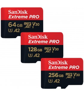 SanDisk Extreme PRO MicroSD - 100% Dash Cam Memory
