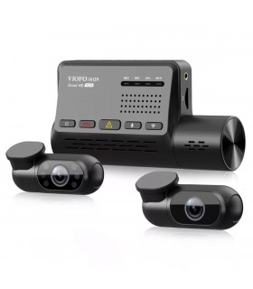 VIOFO A139 - 3CH - QUAD HD+FullHD - GPS-WiFi - TAXI Dash Camera